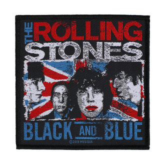 Patch Aufnäher The Rolling Stones - Black And Blue - RAZAMATAZ, RAZAMATAZ, Rolling Stones