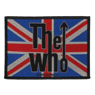 Patch Aufnäher The Who - Union Flag Logo - RAZAMATAZ, RAZAMATAZ, Who