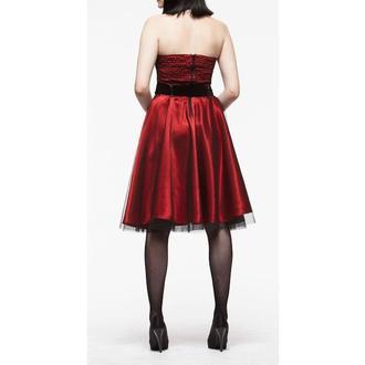 Damen Kleid  HELL BUNNY 'Songstree Dress (RED/BLACK), HELL BUNNY