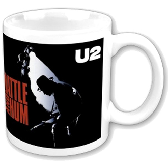 Keramiktasse  (Pott) U2 - Rattle and Hum boxed Mug - ROCK OFF, ROCK OFF, U2