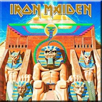 Magnet Iron Maiden - Power Slave Fridge Magnet - ROCK OFF, ROCK OFF, Iron Maiden