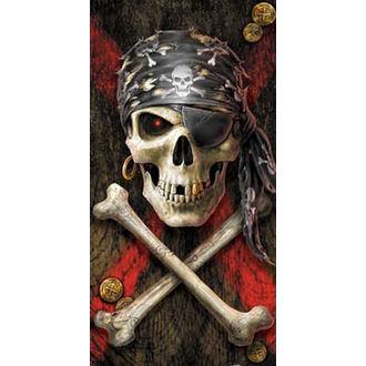 Handtuch Anne Stokes - Pirate Skull, ANNE STOKES