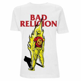 Herren-T-Shirt Bad Religion - Boy He Fire - Weiß, NNM, Bad Religion