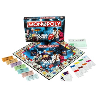 Brettspiel Rolling Stones - Monopoly, NNM, Rolling Stones