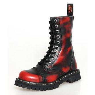 10-Loch Stiefel KMM - Red/Black - 100