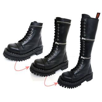 Lederstiefel/Boots KMM  18-Loch - Black - 201/2-ZM