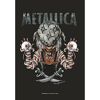 Flagge Metallica - Pirate, HEART ROCK, Metallica