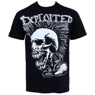 Herren T-Shirt Exploited - Mohican Skull, RAZAMATAZ, Exploited