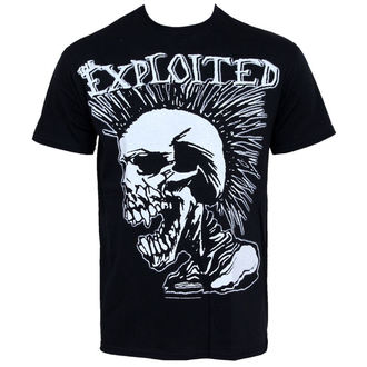 Herren T-Shirt Exploited - Mohican Skull - RAZAMATAZ