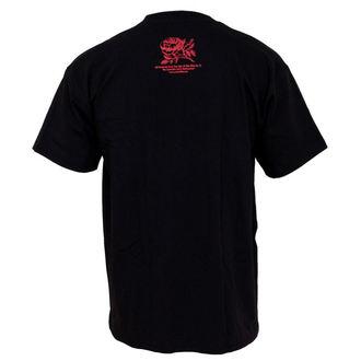 Herren T-Shirt Rise Against - Fist Crest - Black, KINGS ROAD, Rise Against