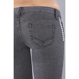 Damen Hose  VANS - Skinny Ankle Denim - Charcoal, VANS