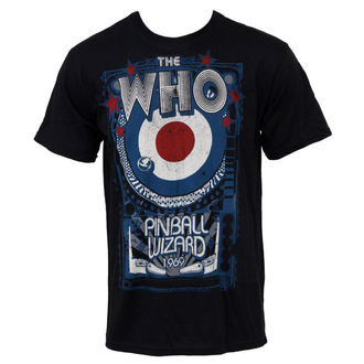Herren T-Shirt The Who - Pinball - LIQUID BLUE, LIQUID BLUE, Who