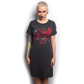 Damen Kleid LED ZEPPELIN - ICARUS - HOLZKOHLE - AMPLIFIED, AMPLIFIED, Led Zeppelin