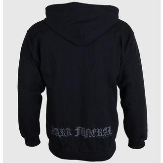 Herren Hoodie  mit Reißverschluss Dark Funeral - Logo, RAZAMATAZ, Dark Funeral