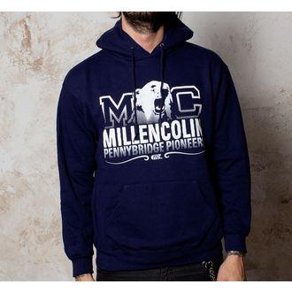 Herren Hoodie  Millencolin - Bear Logo - Navy, Buckaneer, Millencolin