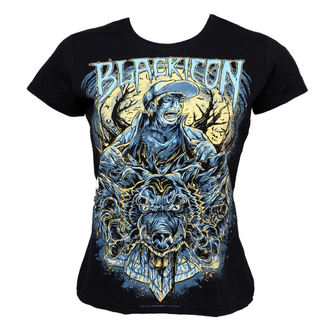 Damen T-Shirt  BLACK ICON - Wolf Sell, BLACK ICON