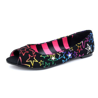Ballerinas DOWNBEY DOWN - Starstruck Peep Toe Flat, ABBEY DAWN, Avril Lavigne