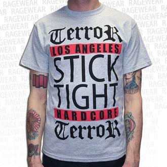 Herren T-Shirt Terror - Los Angeles - Grey - RAGEWEAR, RAGEWEAR, Terror