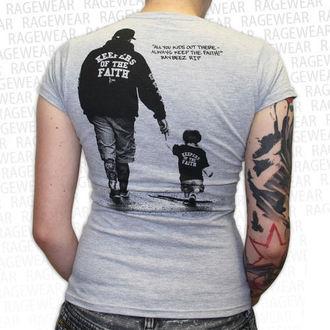 Damen T-Shirt  Terror - New Blood - Grey - RAGEWEAR, RAGEWEAR, Terror