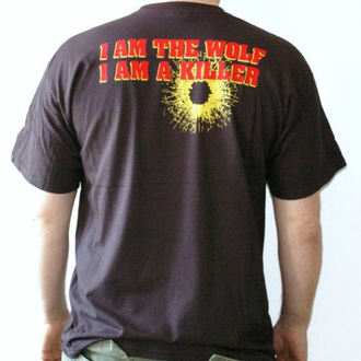 Herren T-Shirt Walls Of Jericho - Wolf - RAGEWEAR, RAGEWEAR, Walls of Jericho