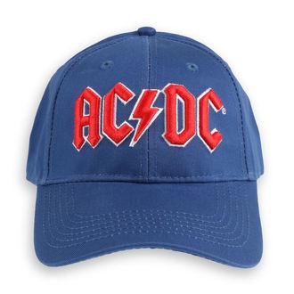 Kappe Cap AC / DC - Red Logo Mid-Blue - ROCK OFF, ROCK OFF, AC-DC