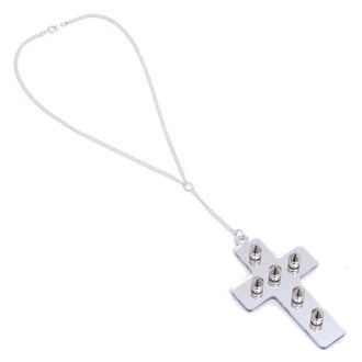 Halskette Extreme Largeness - White Cross, Extreme Largeness