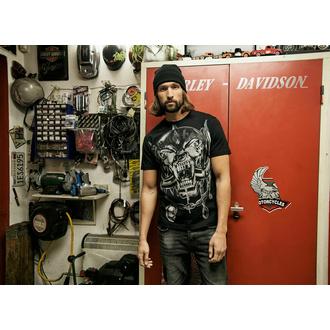 Herren T-Shirt BRANDIT Motörhead Warpig Print 61004-black, BRANDIT, Motörhead