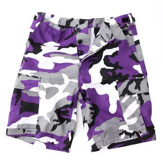 Herren Shorts   US BDU - Army - Lila Camo, MMB
