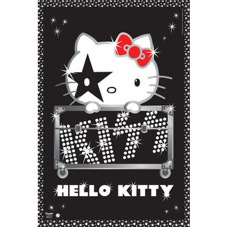 Posters Hello Kitty - Kiss Tour - No Germany - GB Posters, HELLO KITTY, Kiss