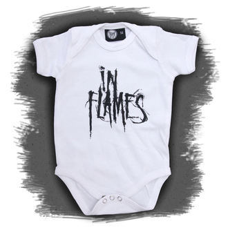 Baby Body  In Flames - Logo - White, Metal-Kids, In Flames
