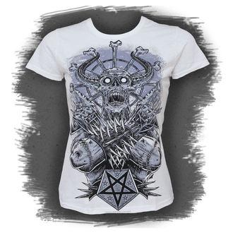 Damen T-Shirt  BLACK ICON - Metall Demon - White, BLACK ICON