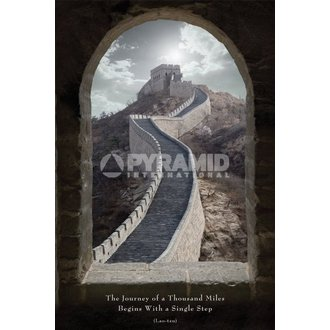 Poster Journey Of A Thousand Miles - Pyramid Posters, PYRAMID POSTERS
