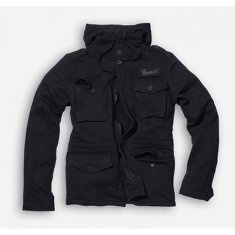 Herren Hoodie  BRANDIT - Detroit Sweat - Black - 3106/2