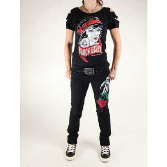 Damen Hose  3RDAND56th - Stelly Rose Skinny Jeans, 3RDAND56th