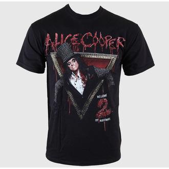 Herren T-Shirt Alice Cooper - Welcome 2 My Nightmare - EMI, ROCK OFF, Alice Cooper