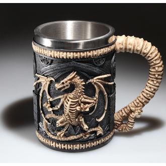 Keramiktasse  (Pott) (Humpen) Dragon Remains Tankard, NNM