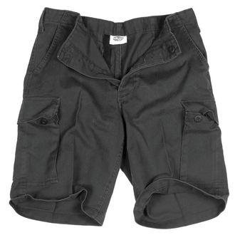 Herren Shorts   MIL-TEC - BW Bermuda - Prewash Schwarz, MIL-TEC