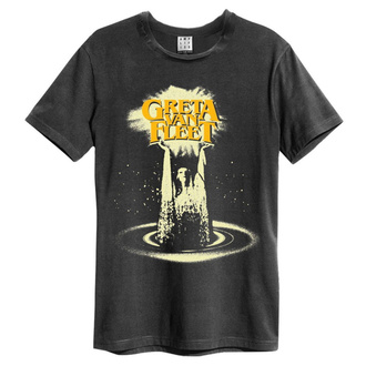 Herren T-Shirt Metal Greta Van Fleet - CHARCOAL - AMPLIFIED, AMPLIFIED, Greta Van Fleet