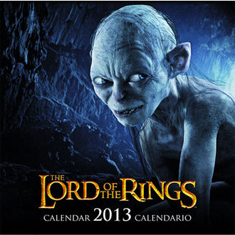 Kalender  das Jahr 2013 Lord of the rings - English & Spanish Version, NNM