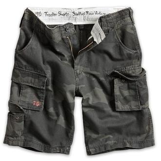 Herren Shorts   SURPLUS - Trooper - Black Camo - 07-5600-42