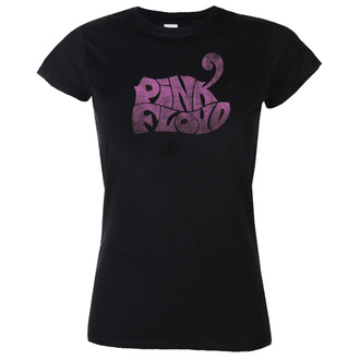 Damen T-Shirt  Pink Floyd - Logo - Black - IMPACT, IMPACT, Pink Floyd