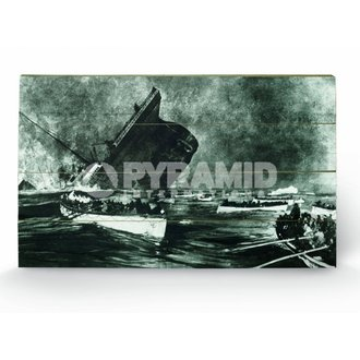 Holzbild Titanic (13) - Pyramid Posters, PYRAMID POSTERS