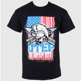 Herren T-Shirt Otep - Flag - VICTORY, VICTORY RECORDS, Otep