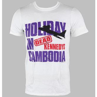 Herren T-Shirt Dead Kennedys - Cambodia - White - LIVE NATION, LIVE NATION, Dead Kennedys