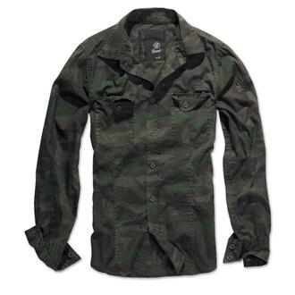 Herrenhemd  BRANDIT - Men Hemd Slim - Woodland - 4005/10