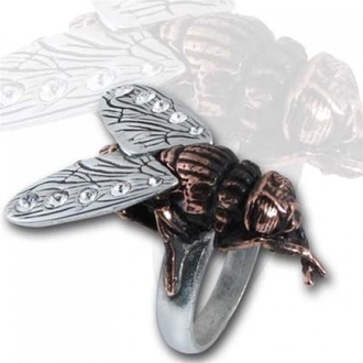 Ring Lord Of The Flies - Alchemy Gothic, ALCHEMY GOTHIC