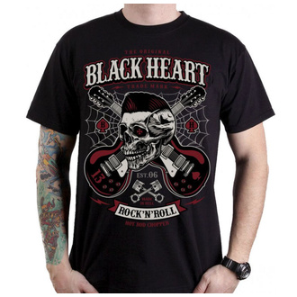 Herren T-Shirt Street - ROCKABILLY BOY - BLACK HEART, BLACK HEART