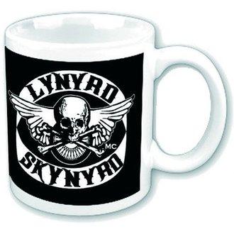 Keramiktasse  (Pott) Lynyrd Skynyrd - Logo - HMB, HALF MOON BAY, Lynyrd Skynyrd