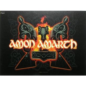 Fahne Amon Amarth - Hammers, HEART ROCK, Amon Amarth