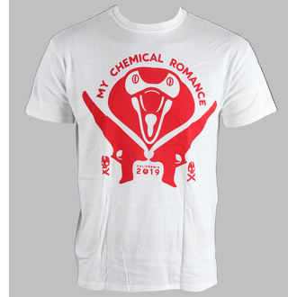 Herren T-Shirt My Chemical Romance - Kobra Head - LIVE NATION, LIVE NATION, My Chemical Romance